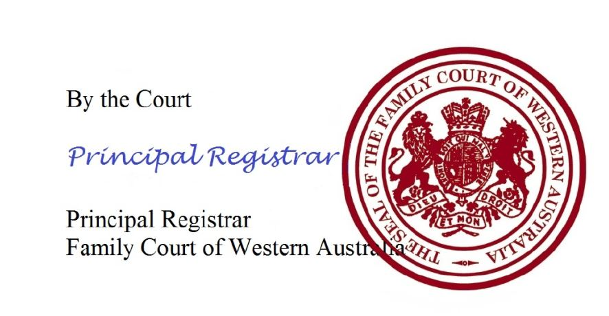 How to get copy of sealed orders from Family Court of WA
