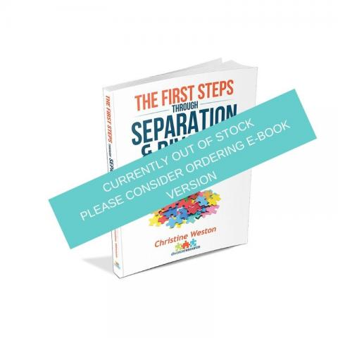 Paperback Book: The First Steps (posted within 2 working days)